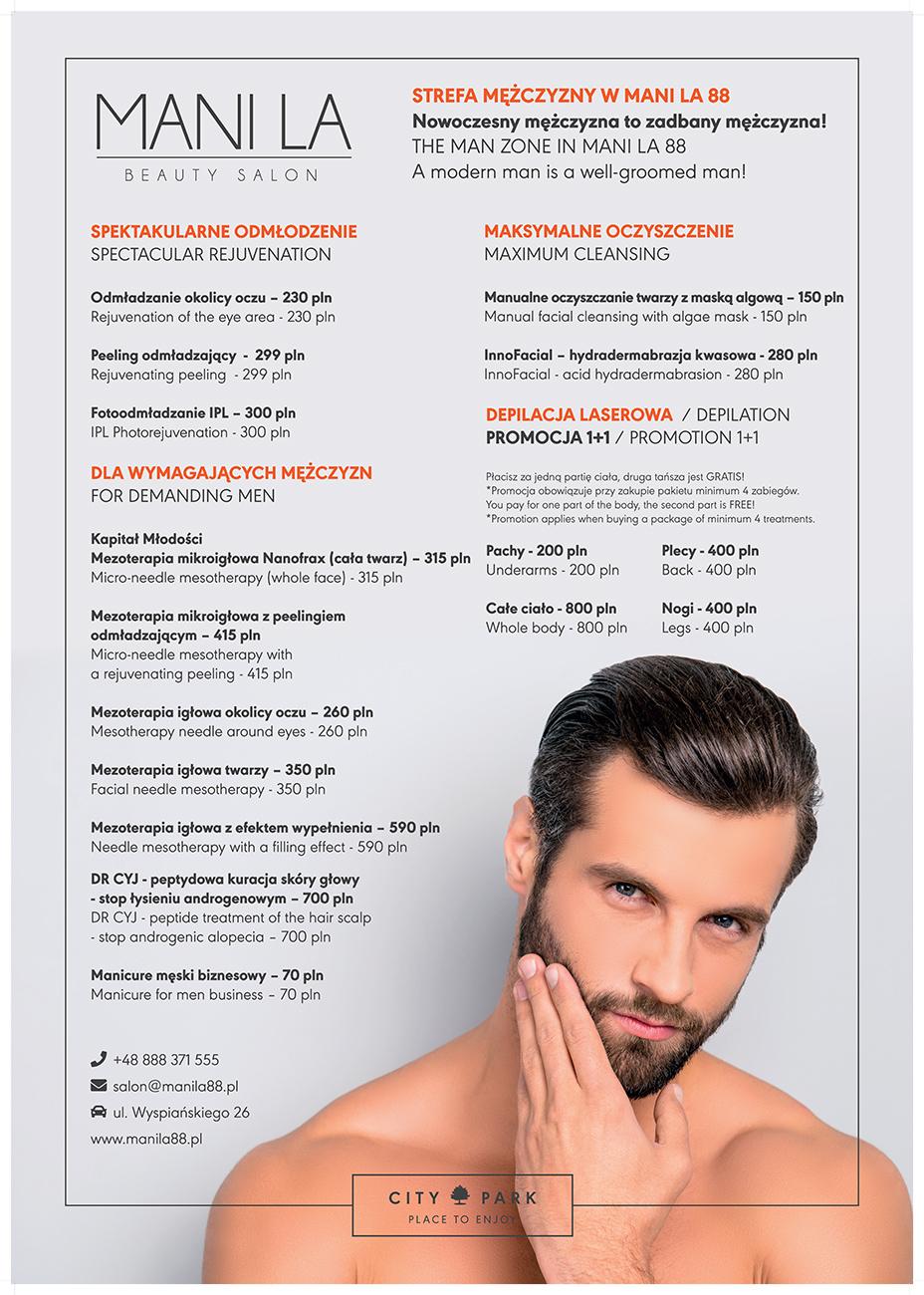 kosmetyczka dla mężczyzn